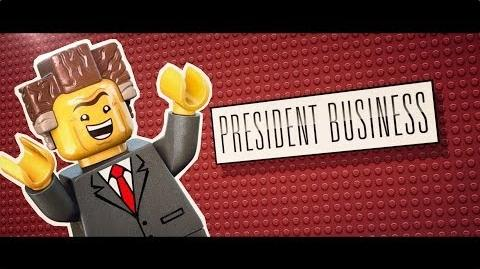 The LEGO® Movie - Meet President Business HD