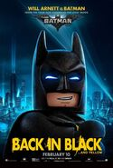The LEGO Batman Movie Poster Personnage Batman