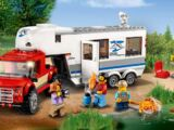 60182 Le pick-up et sa caravane