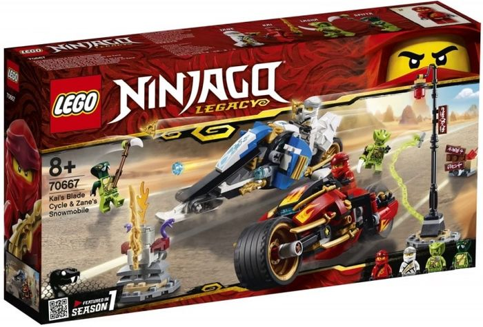 NEW LEGO Zane njo494 FROM SET 70667 NINJAGO Legacy