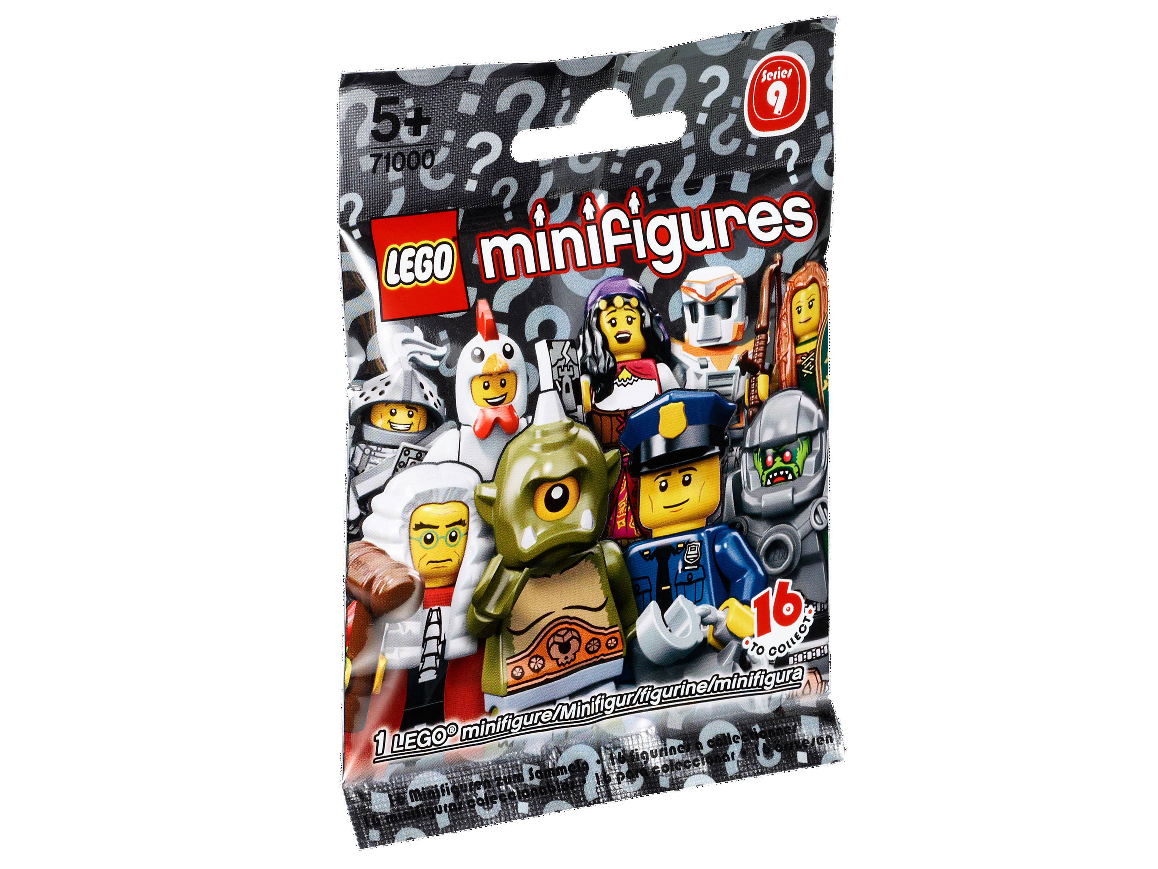 LEGO Minifigures Série 9-Cyclope, 71000 complet