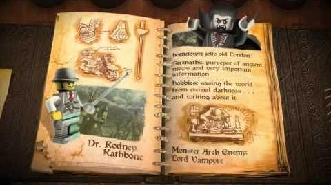 LEGO Monster Fighters - Dr Rodney Rathbone