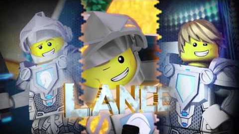 LEGO NEXO KNIGHTS - Lance - Smile while you Fight