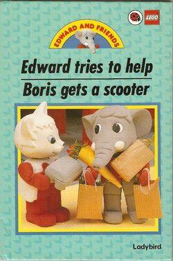 Lego edward tries to help