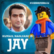Vignette Ninjago Movie Kumail Nanjiani