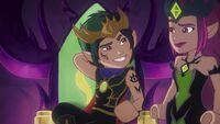 Kobold-König & Ragana