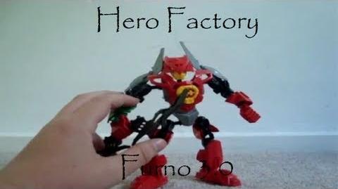 LEGO Hero Factory Review Furno 3.0