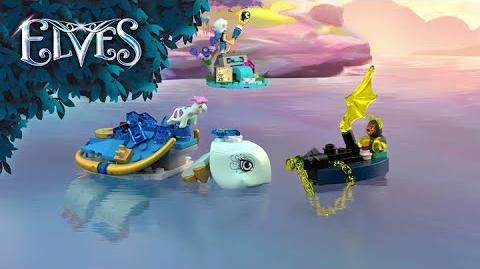 Naida & the Water Turtle Ambush 41191 - LEGO Elves - Product Animation