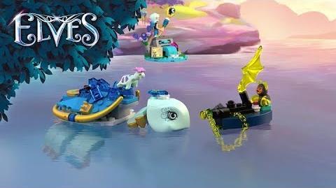 Naida & the Water Turtle Ambush 41191 - LEGO Elves - Product Animation