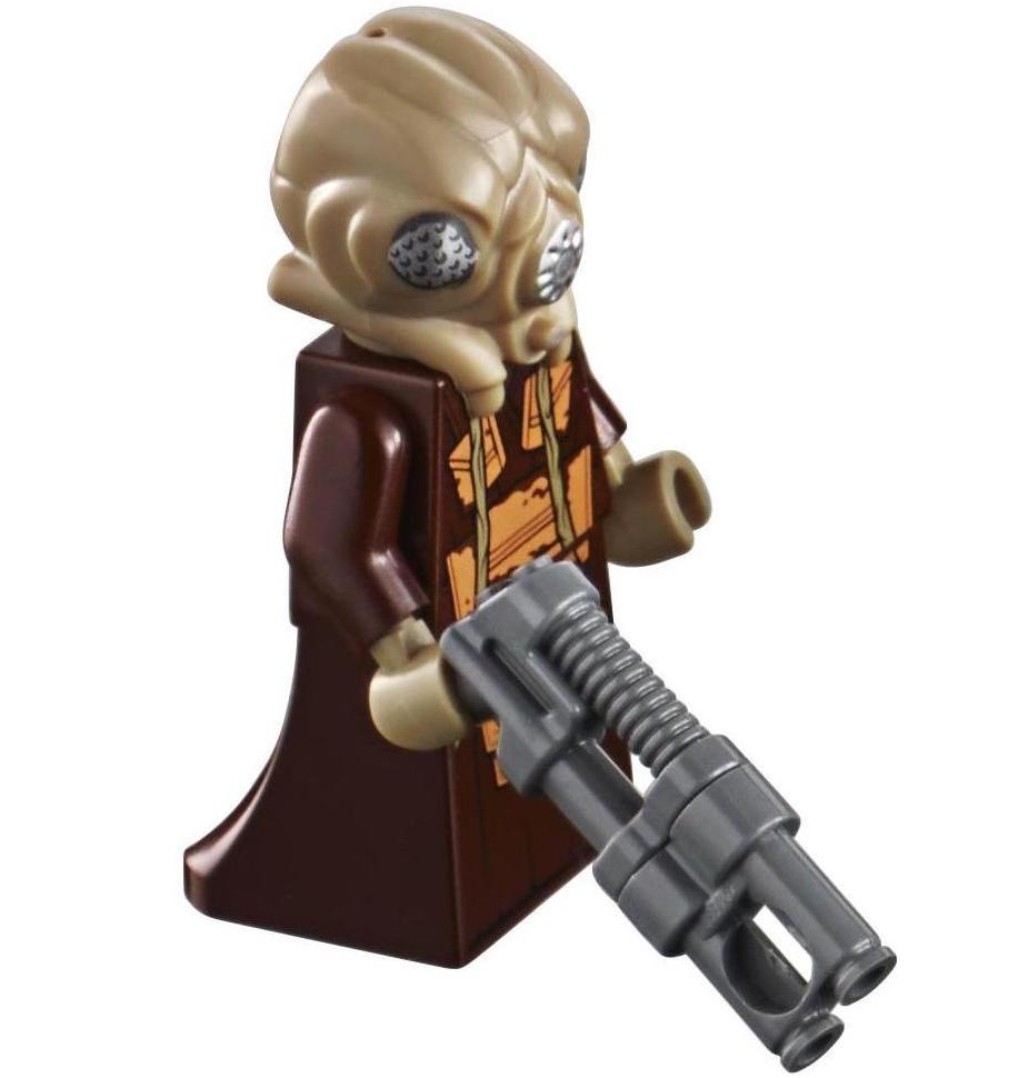 Lego Star Wars 20th Anniversary Zuckuss Minifigure Bounty Hunter 75243