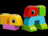 10554 Jeu de construction à roulettes pour tout-petits 2