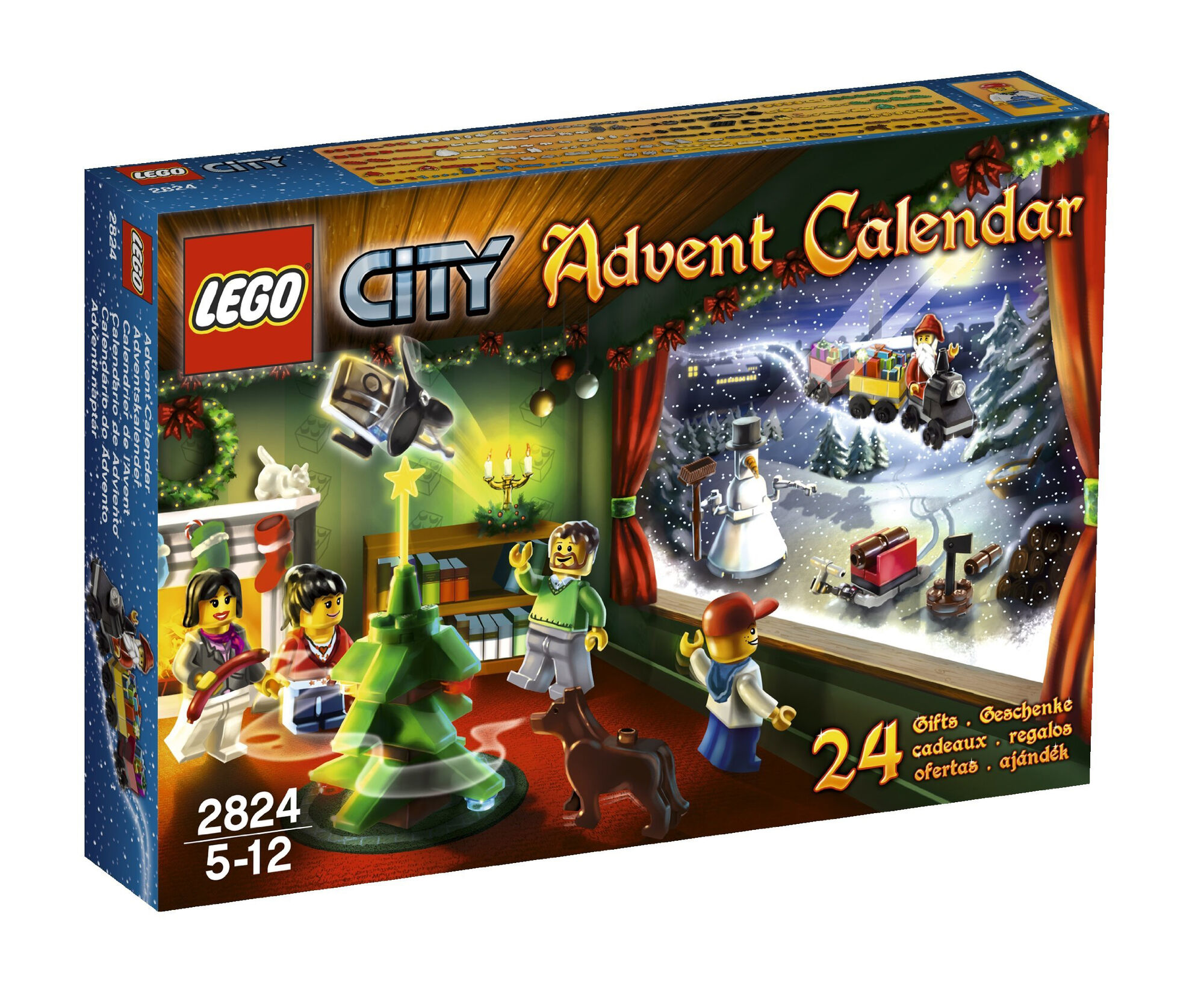 2824 City Advent Calendar Brickipedia Fandom Powered By Wikia