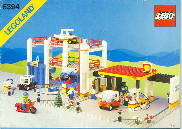 Lego Car Wash Games