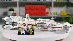 LEGO Star Wars Tantive IV Designer Video Review & Interview 75244