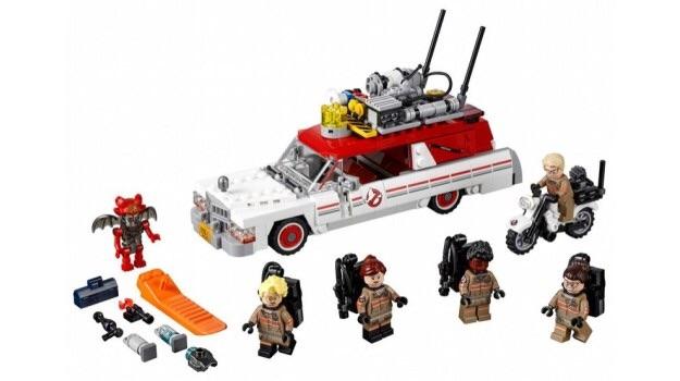 75828 ghostbusters ecto 1 and ecto 2 brickipedia fandom powered rh lego fandom com