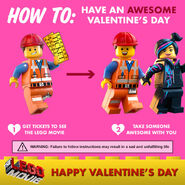 The LEGO Movie Saint Valentin 2