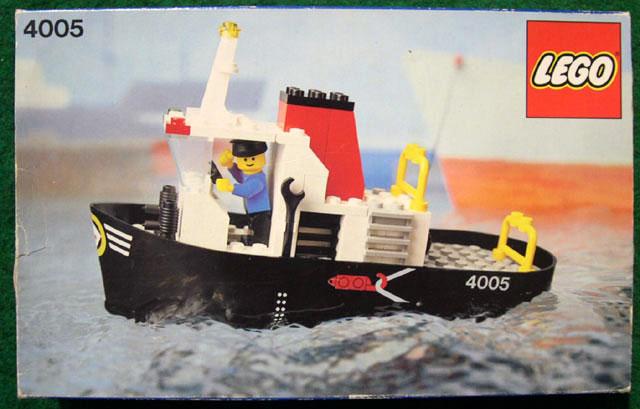 4005 Tug Boat Brickipedia Fandom Powered By Wikia