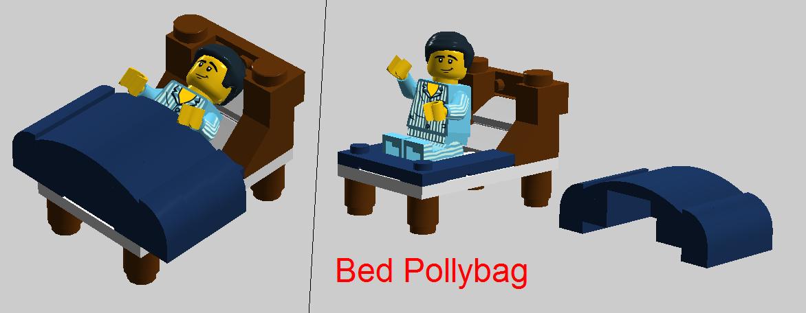 Custom Bed Pollybag Brickipedia Fandom Powered By Wikia