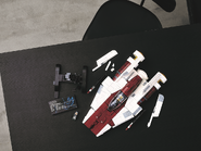 75275 Le chasseur A-wing 19