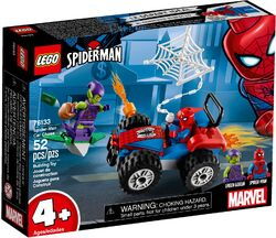 76133 Spider-Man Car Chase Box