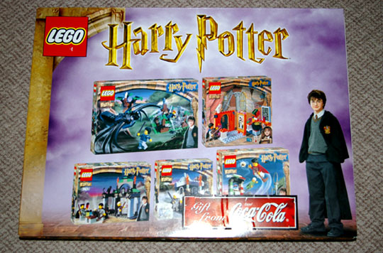 KCCHP1 Coca Cola Harry Potter Gift Set | Brickipedia | FANDOM ...