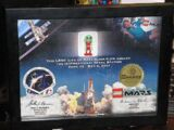 Framed Minifig LoM Arcturus International Space Station Passenger with Certificate of Authenticity