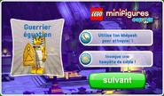 Série 13 Guerrier égyptien code
