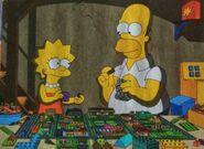 Homer and Lisa