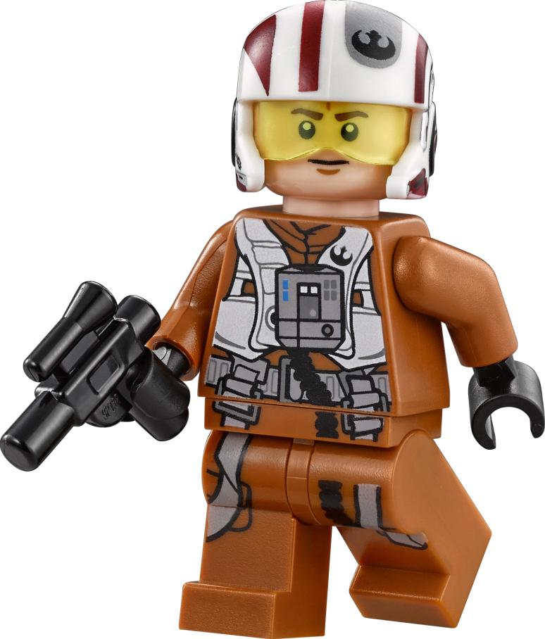 Lego Star Wars Rebel Calamari Officer Resistance Officer Ground Crew Ackbar