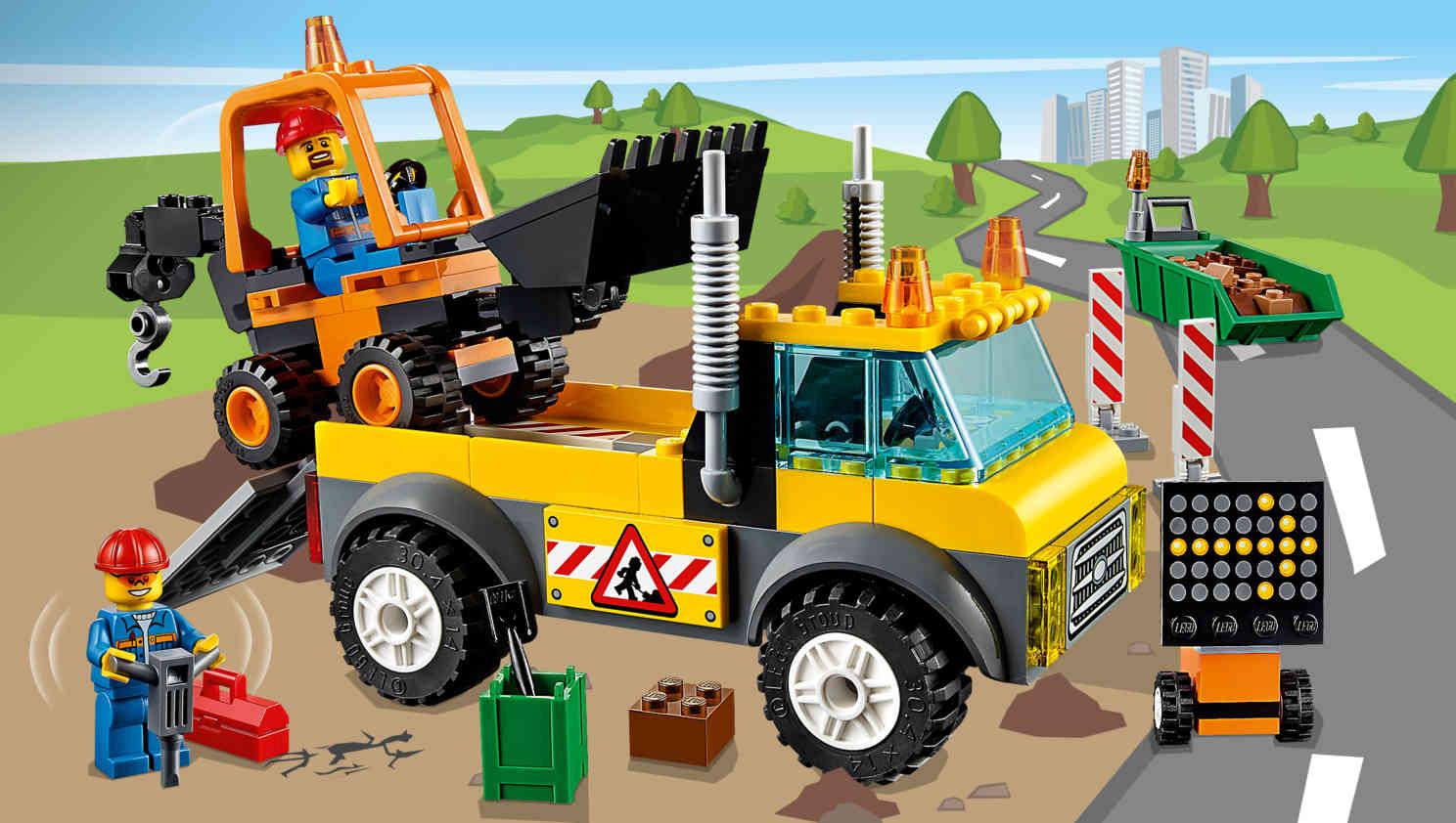 10683 le camion de chantier wiki lego fandom powered by wikia. Black Bedroom Furniture Sets. Home Design Ideas