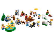 60134 Le parc de loisirs - Ensemble de figurines City