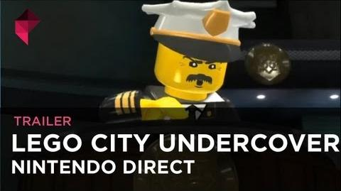 LEGO City Undercover - Nintendo Direct trailer