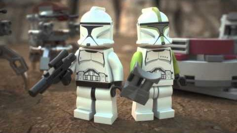 LEGO Star Wars Clone Troopers vs