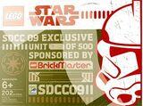 SDCC Star Wars Brickmaster Exclusive 2009