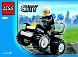 5625-Police 4 x 4