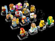 71018 Minifigures Série 17 2