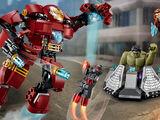76031 Le combat du Hulk Buster