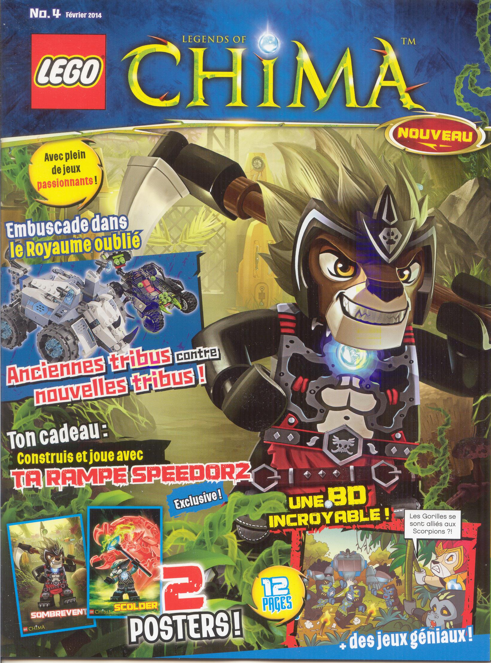Lego chima 4 wiki lego fandom powered by wikia - Chima saison 2 ...
