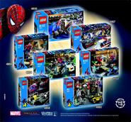 Spiderman 2 sets