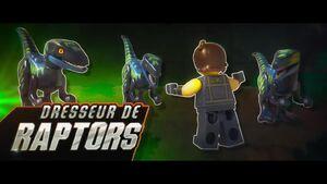 The LEGO Movie 2 BA 2-Rex dresseur de raptors