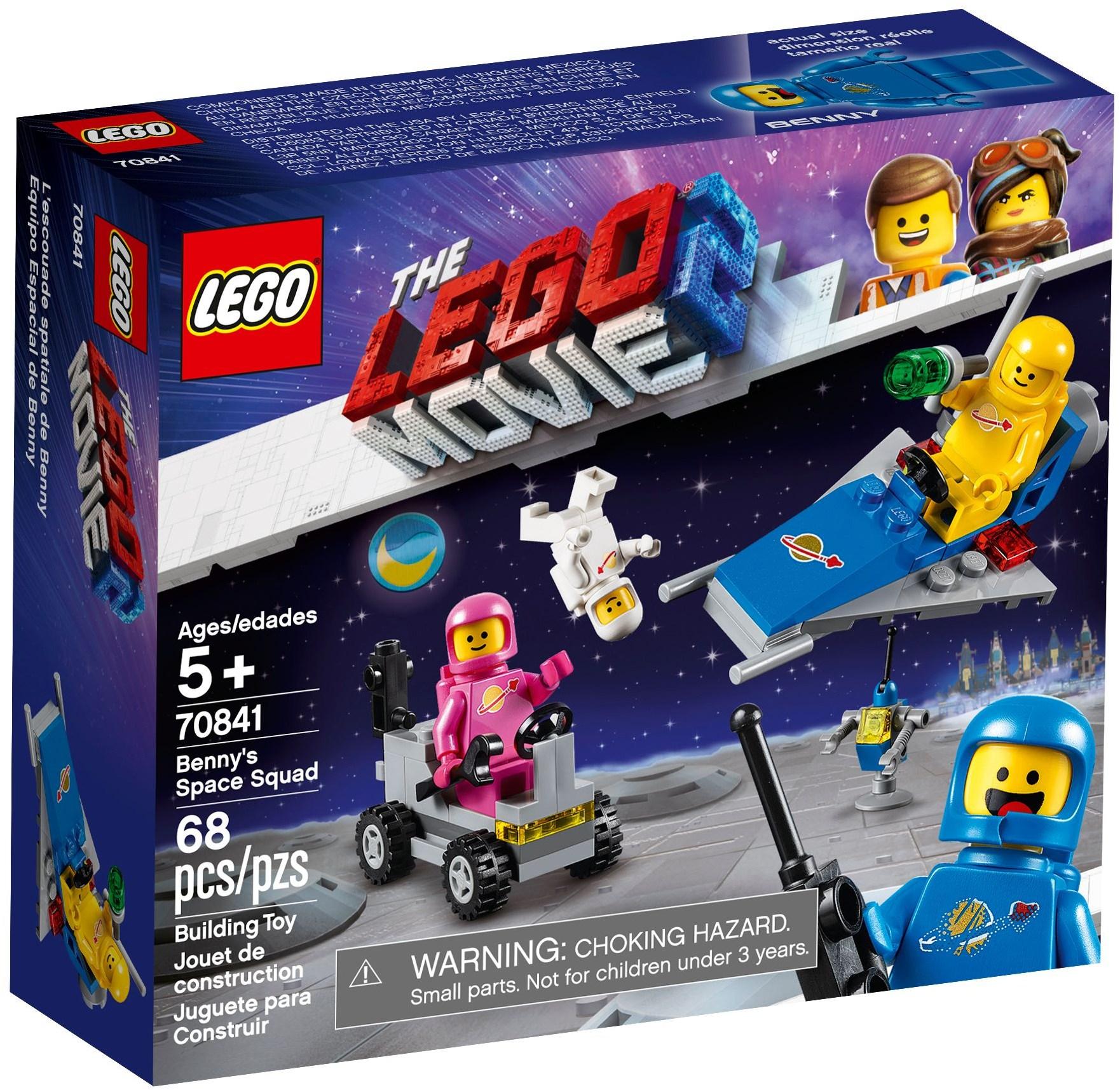 LEGO The Lego Movie 2 Space Benny Minifigure 70837 Mini Fig