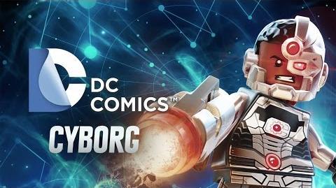 Character Spotlight Cyborg LEGO Dimensions