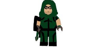 GREEN ARROW LEGO CUSTOM MINIFIGURE