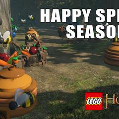 LEGO The Hobbit Happy Spring Season!