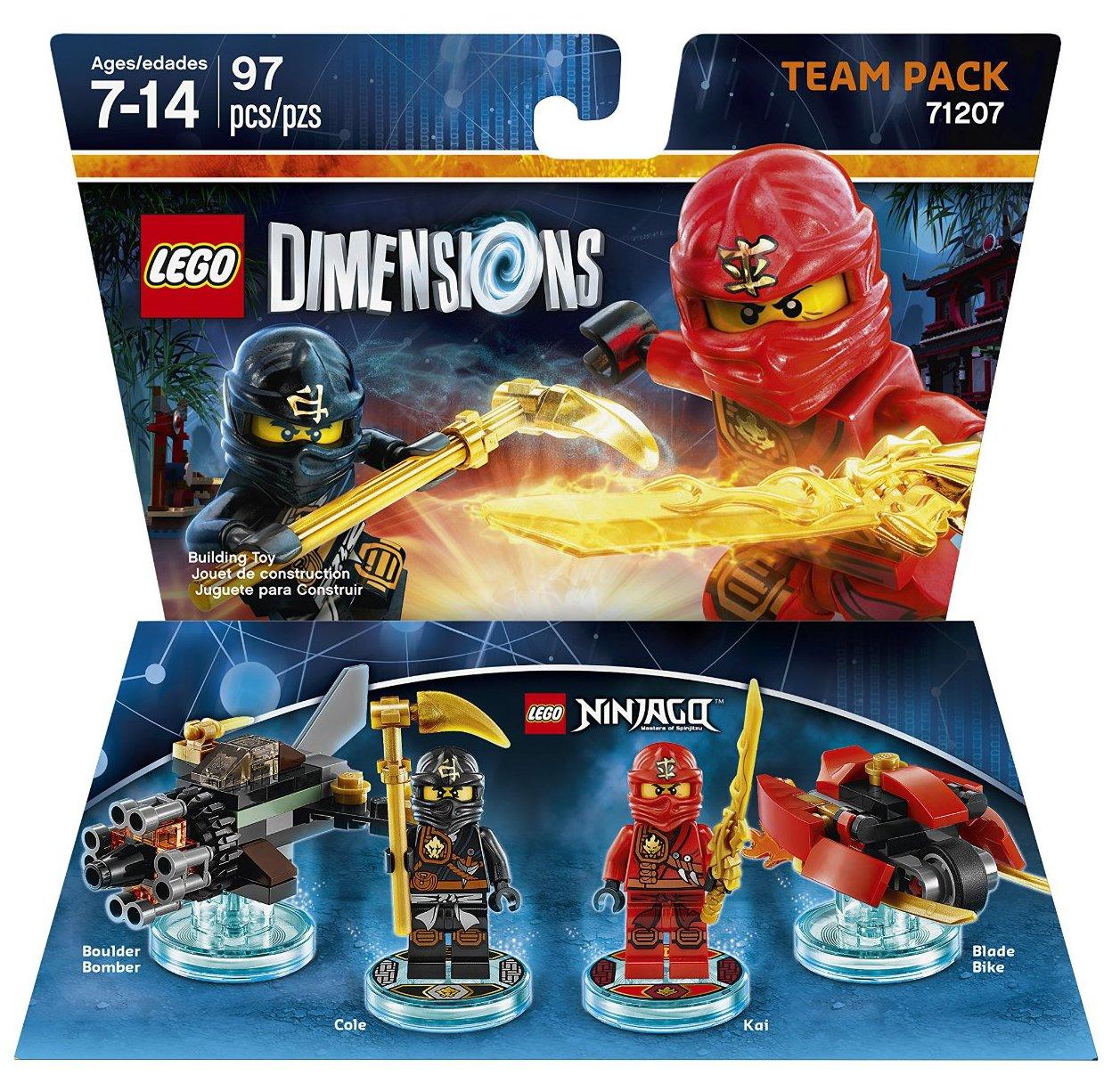 ninjago team pack - Jeux De Lego Ninjago Gratuit