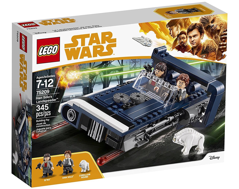 75209 LEGO Star Wars Han Solo/'s Landspeeder 345 PIECES 7 Ans