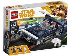 75209 Han Solo's Landspeeder Box