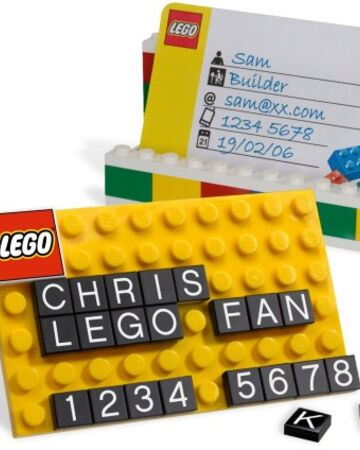 Visitenkartenhalter 850425 Lego Wiki Fandom