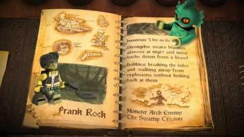 LEGO Monster Fighters - Frank Rock