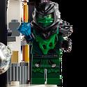 Maléfique Ninja vert